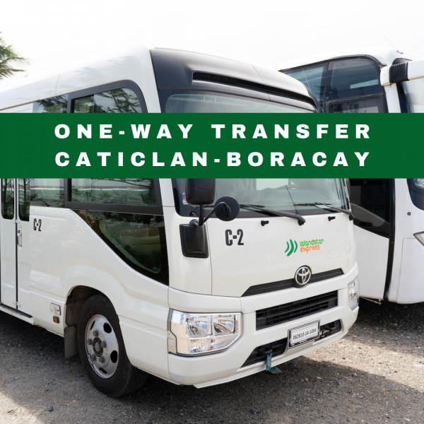 One-way Caticlan Boracay Transfer