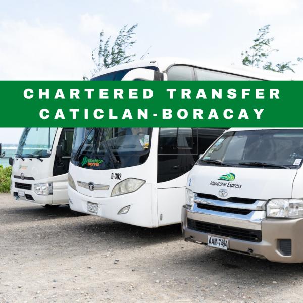 Chartered Transfer Caticlan to Boracay