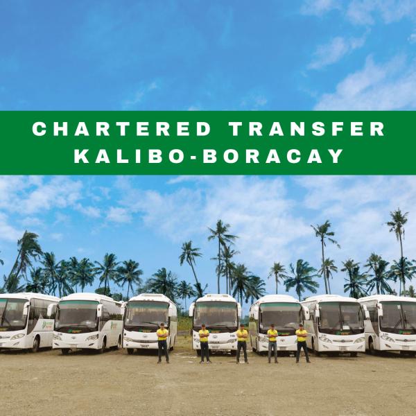 Chartered Transfer Kalibo Boracay