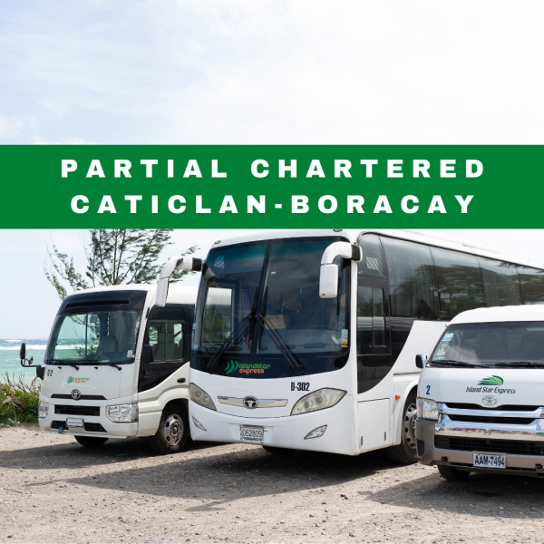 Partial Chartered Caticlan Boracay Transfer
